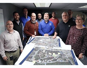 Image of TLCGIS and Emergency Management staff