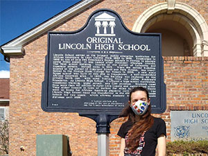 Lincoln High Marker